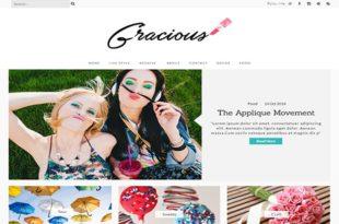 Gracious Blogger Template