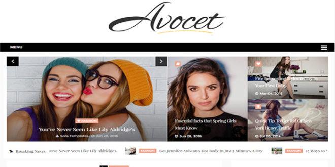 Avocet Blogger Template