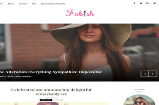 Fabish Blogger Template