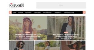 johansen blogger template