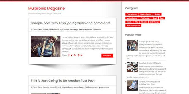 mularonis blogger template