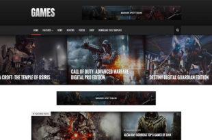 sora games blogger template