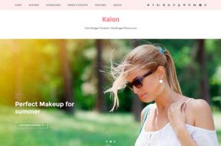 kalon blogger template