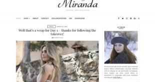 Miranda Blogger Template