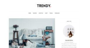 Trendy Blogger Template