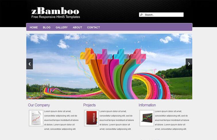 Bamboo Free Responsive