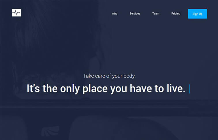 Cardio Best Free Responsive HTML5