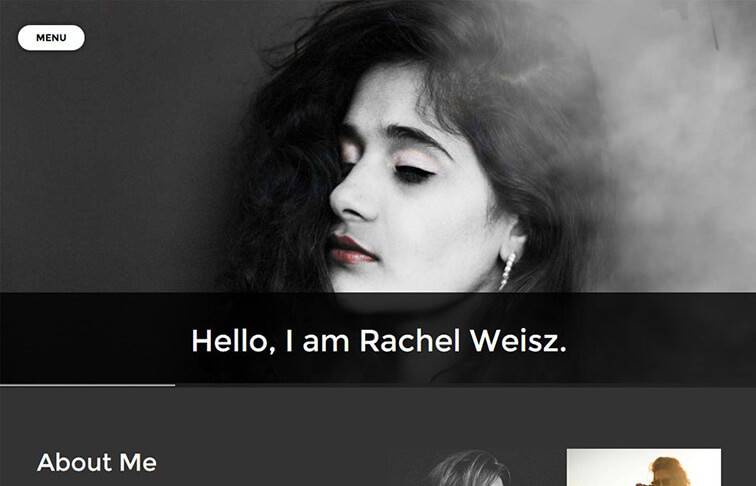 Photographer Website Template