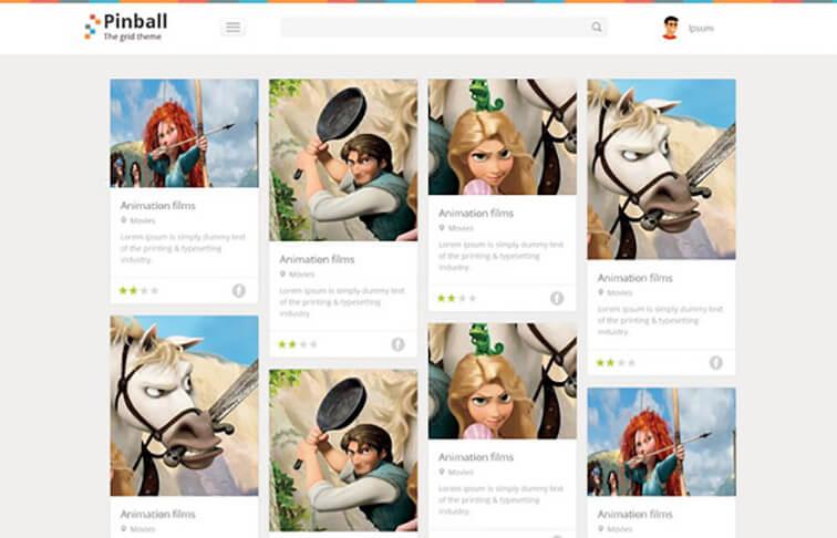 Pinball Website Template