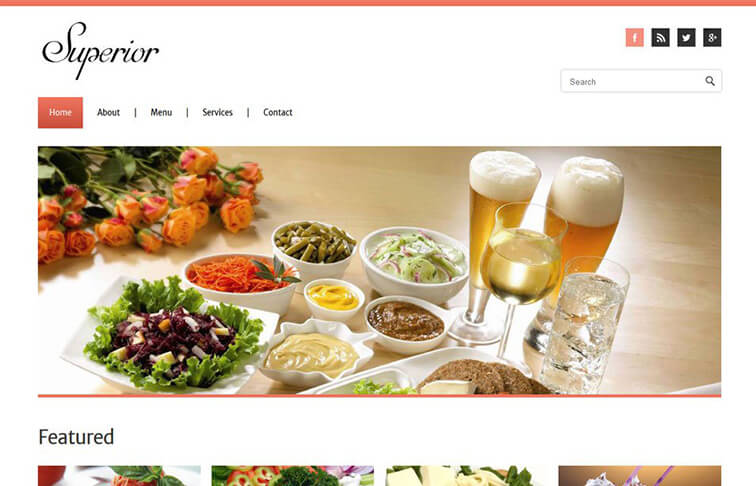 Superior CSS3 Website