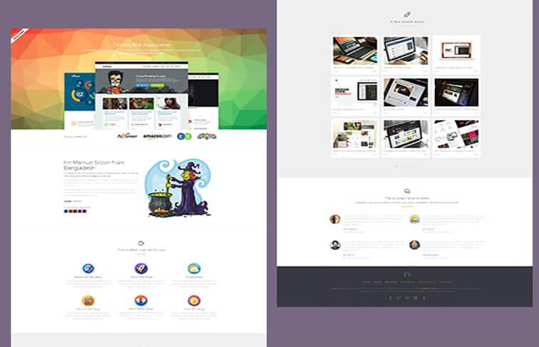 drifolio Responsive HTML5 CSS3