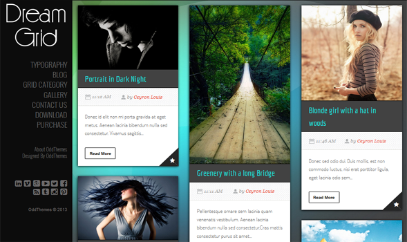 Dream-Grid-Responsive-Blogger-Template