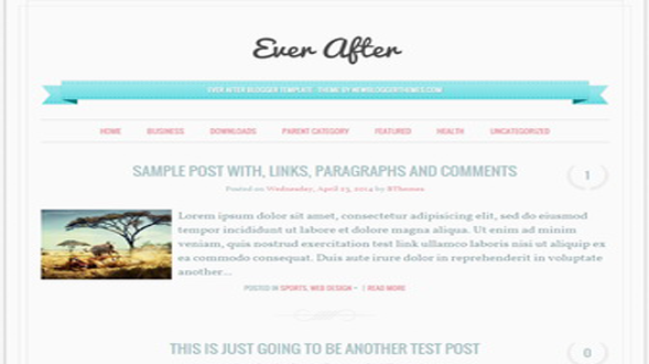 Ever-After-Blogger-Template