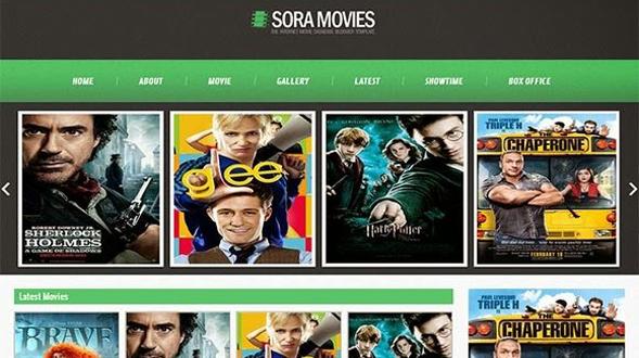 Sora-Movies-Responsive-Blogger-Template