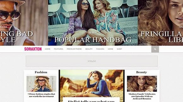 Soraxton-Blogger-Template