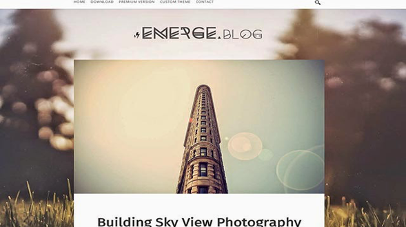 Emerge-Personal-Blogger-Template
