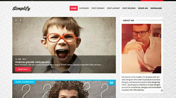 Simplify-Clean-Blogger-Template