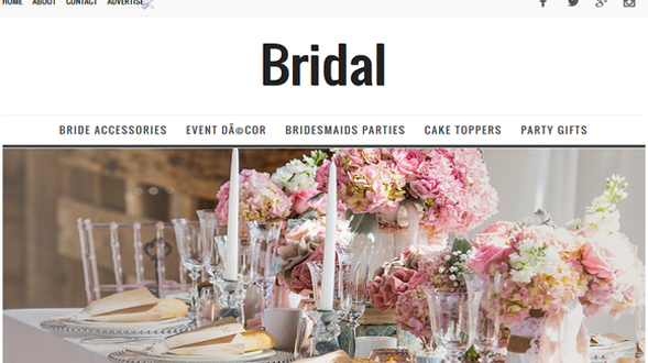 Bridal-Responsive-Blogger-Template