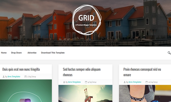 Grid-Responsive-Blogger-Template