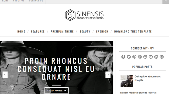 Sinensis-Responsive-Blogger-Template