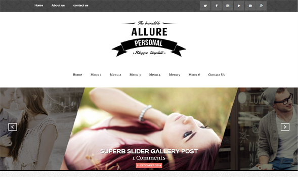 Allure-Responsive-Blogger-Template