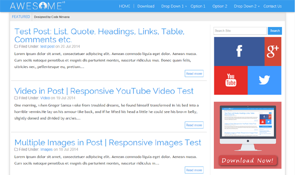Awesome-V3-Responsive-Blogger-Template