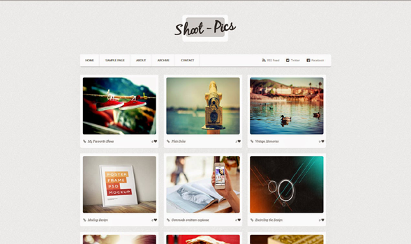Shoot-Pics-Blogger-Template