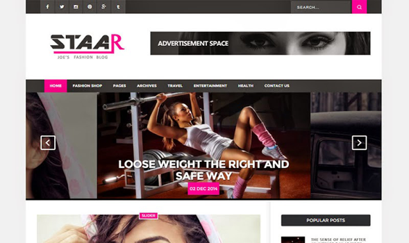 Staar-Fashion-Blogger-Template
