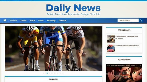 Daily-News-Blogger-Template