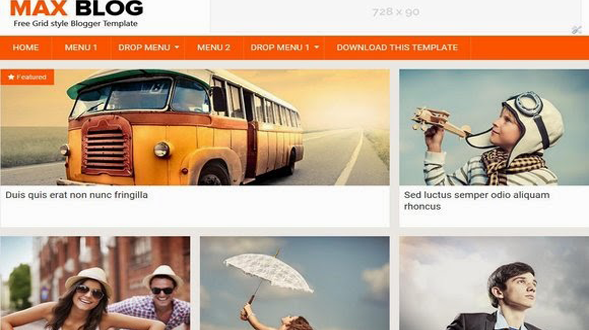 Max-Blog-Blogger-Template