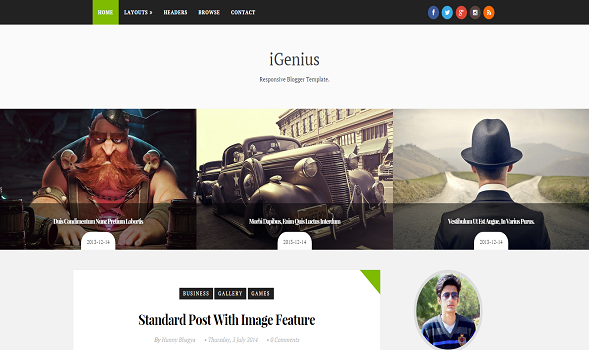 iGenius-Elegant-Blogger-Template