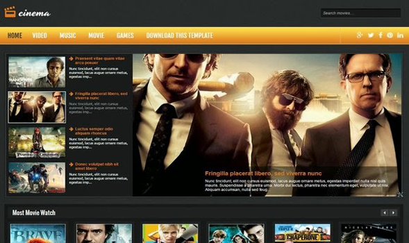 Cinema-Responsive-Blogger-Template