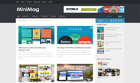 MiniMag-Responsive-Blogger-Template
