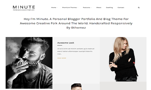 Minute-Responsive-Blogger-Template