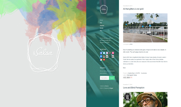 Salsa-Personal-Blogger-Template