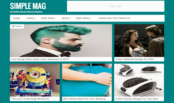 Simple-Mag-Responsive-Blogger-Template