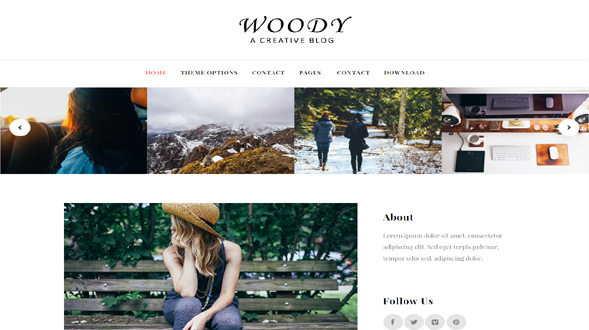 Woody-Responsive-Blogger-Template