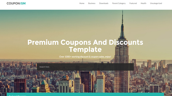 Couponism-Blogger-Template