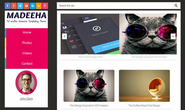 Madeeha-Responsive-Blogger-Template