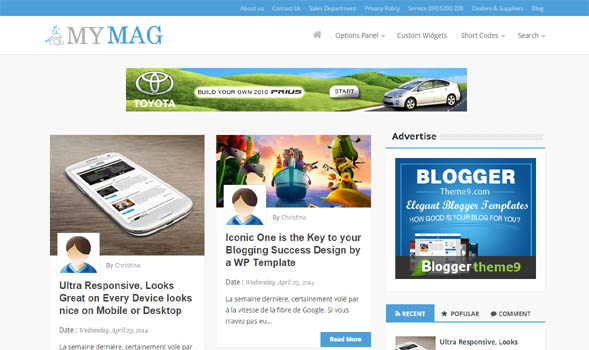 Times-Day-Blogger-Template