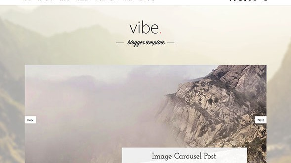Vibe-Personal-Blogger-Template