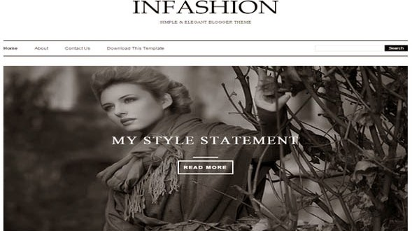iNFashion-Blogger-Template
