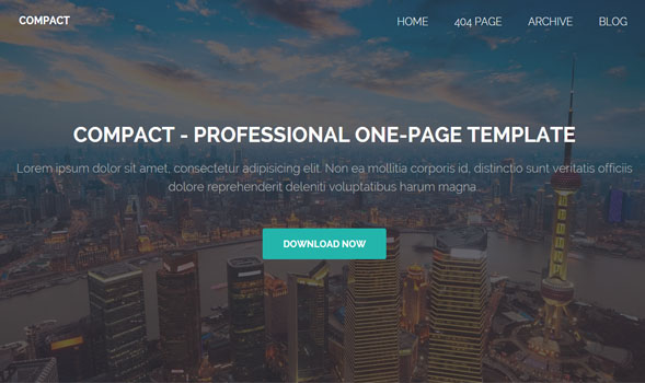 Compact-Blogger-Template