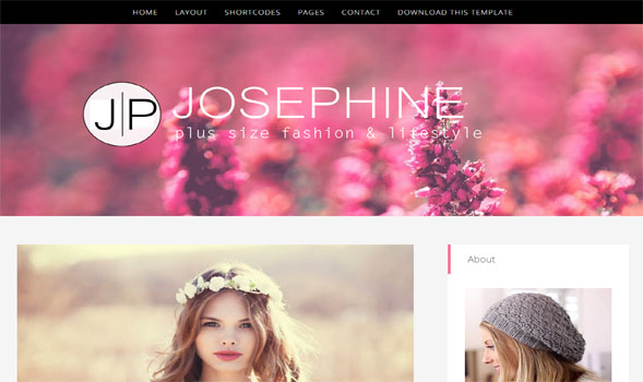 JosePhine-Blogger-Template