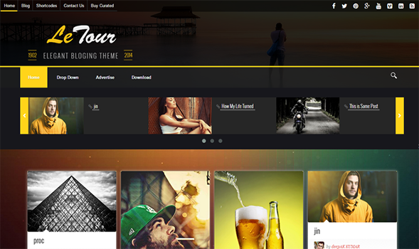 Le-Tour-Blogger-Template