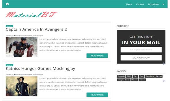MaterialBt-Blogger-Template