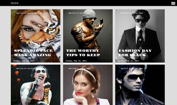 Sleek-Responsive-Blogger-Template
