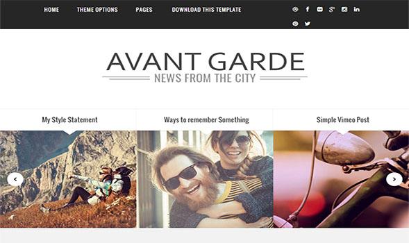 Avant-Garde-Blogger-Template