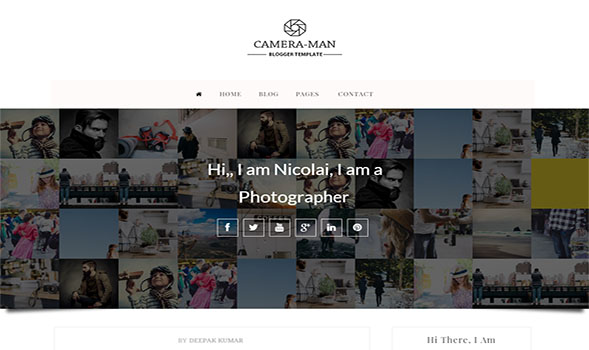 Camera-Man-Blogger-Template