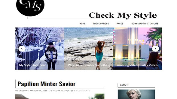 Check-My-Style-Blogger-Template